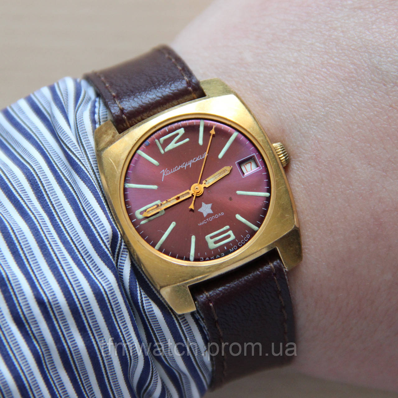 Командирские Чистополь оригинальные часы СССР   продажа, цена в ... 8e3f848ba56