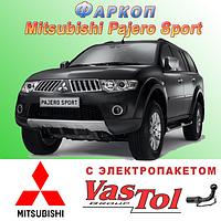 Фаркоп Mitsubishi Pajero Sport (прицепное Мицубиси Паджеро Спорт)