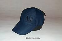 Бейсболка мужская ARMANI 1933 тёмно-синяя, фото 1