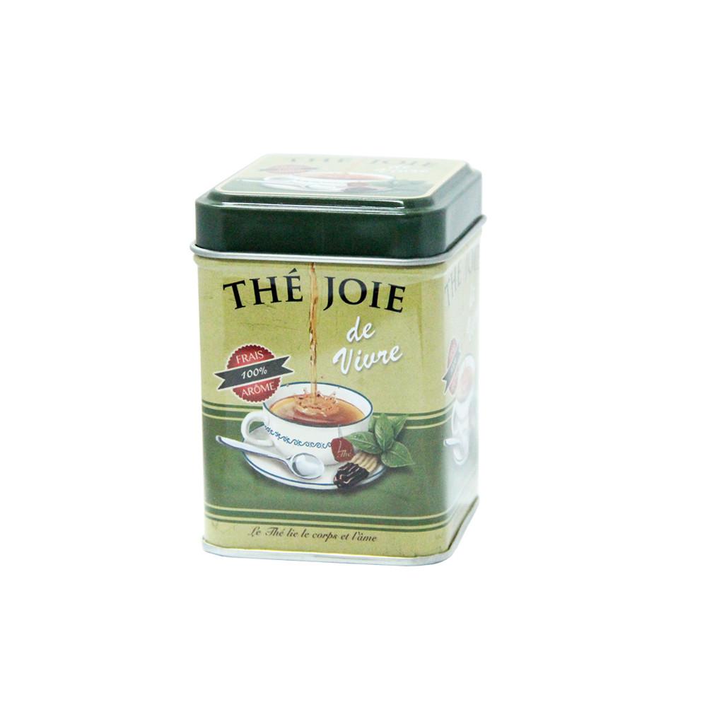 Маленькая жестяная банка для чая Прекрасная жизнь, 25г ( контейнер для сыпучих )