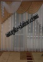 Воздушный ламбрекен из шифона, фото 1