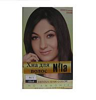 Хна для волос Nila чёрная 60 гр