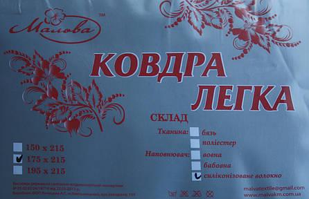 Одеяло холлофайбер 150*215 Мальва, фото 2