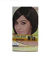 Хна для волос Nila натурально-чёрная 60 гр