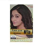 Хна для волос Nila коричневая 60 гр