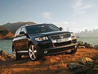 Кенгурятники на Volkswagen Touareg