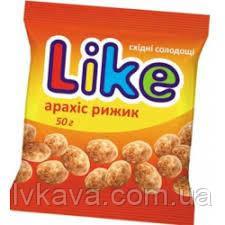 Драже Like арахис рыжик ,50 гр