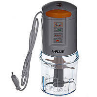 Измельчитель кухонный А-ПЛЮС EC-1546 (500 мл, 300 Вт), блендер-чоппер измельчитель продуктов для кухни