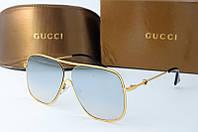 Солнцезащитные очки квадратные Gucci зеркальные, фото 1