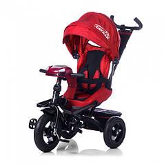 Трехколесный велосипед Baby Tilly Cayman с пультом красный Т-381