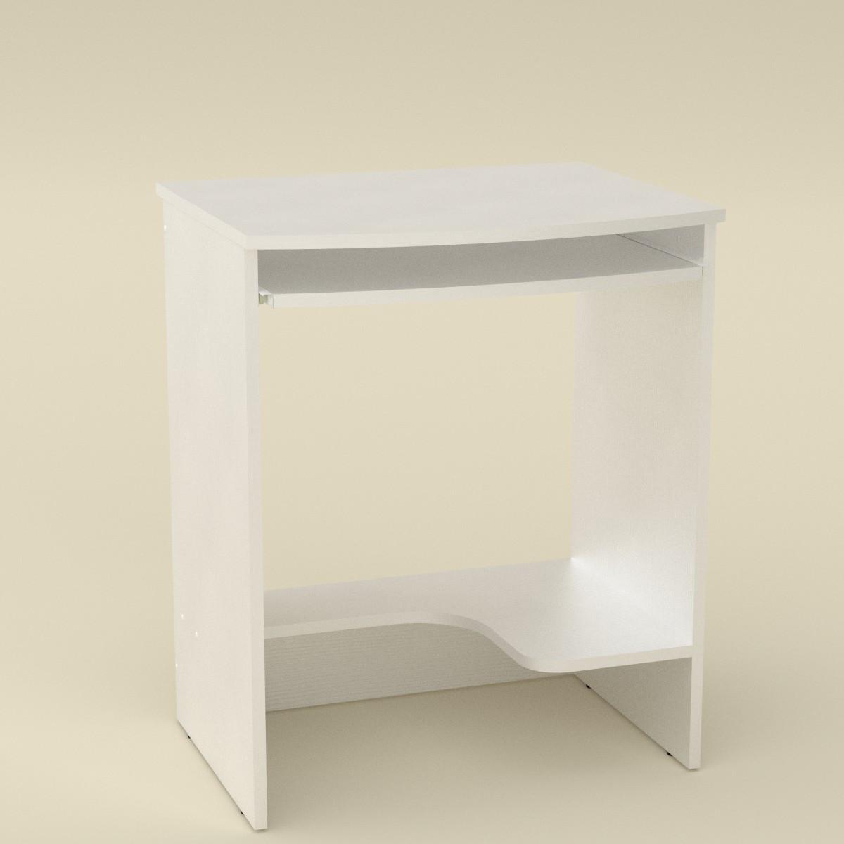 Стол компьютерный СКМ-13 белый Компанит (61х50х74 см), фото 1