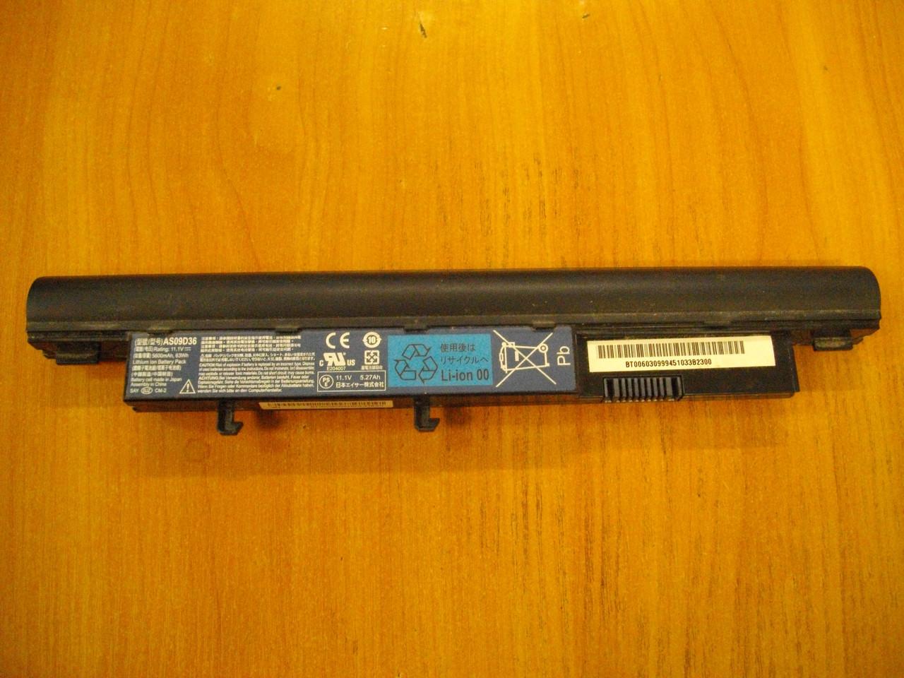 АКБ Батарея Аккумулятор AS09D36 от ноутбука Acer TravelMate 8371 TM8371G