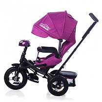 Трехколесный велосипед Baby Tilly Cayman с пультом фиолетовый Т-381, фото 2