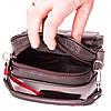 Мужская сумка барсетка кожаная коричневая Eminsa 6053-18-3 , фото 7