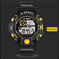 Synoke водонепроницаемые спортивные часы с большим циферблатом, фото 1