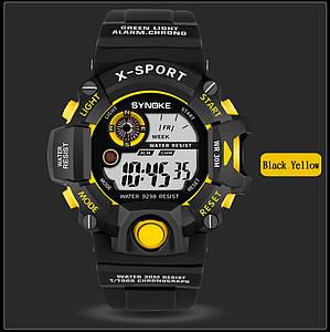 Synoke водонепроницаемые спортивные часы с большим циферблатом