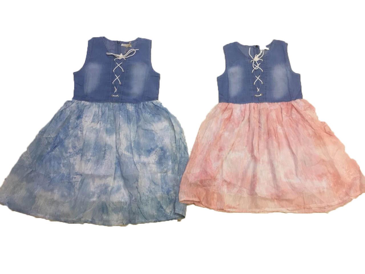 Платье летнее для девочек оптом , размеры 8-16 лет, арт. 9708