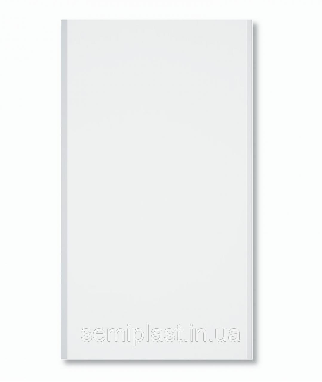 Бесшовная панель А03 Белая Лак 250 мм