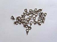 Карабин сердечко 1 см под сталь