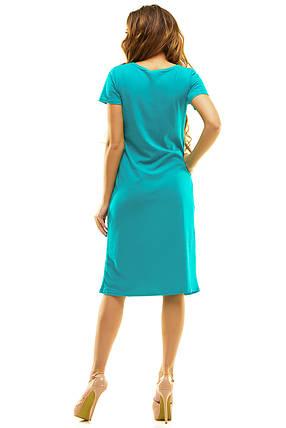 Платье 408 зеленое, фото 2