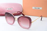 Солнцезащитные очки Миу Миу розовые, фото 1