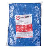 Тент водонепроницаемый, полипропиленовый (тарпаулин), 2*3 м с люверсами INTERTOOL AB-0203