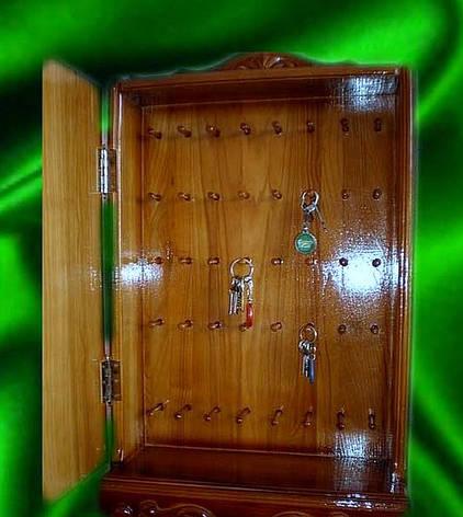 Ключниця різьблена, виготовлення ключниць, фото 2