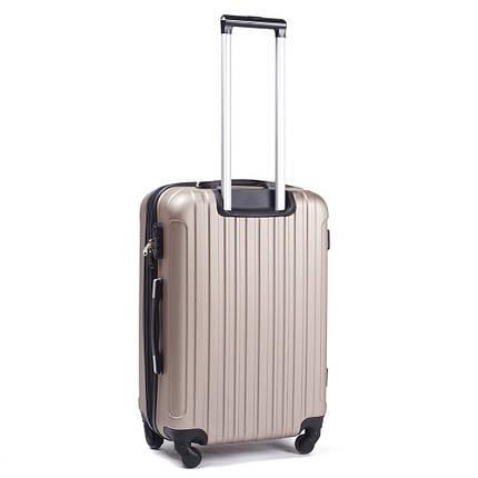 Ударопрочный чемодан пластиковый из поликарбоната большой 100 л фиолетовый WS1102-123, фото 2