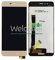 Модуль ASUS ZenFone 3 Max (ZC520TL) gold дисплей экран, сенсор тач скрин для телефона смартфона
