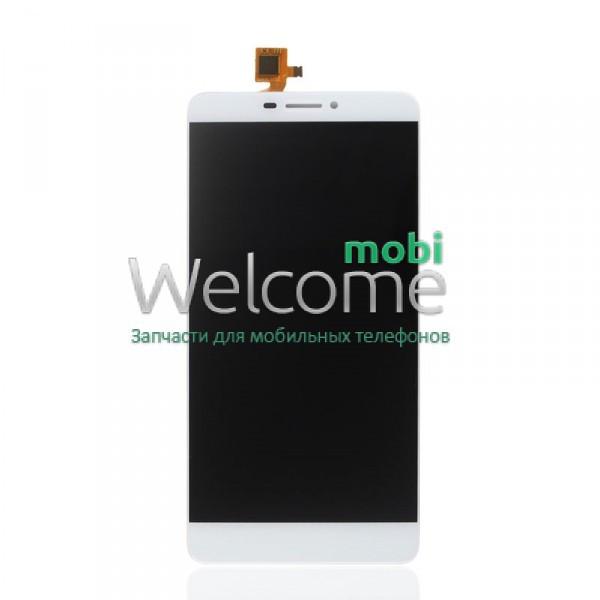 Модуль Bluboo Dual white дисплей экран, сенсор тач скрин Блюбу