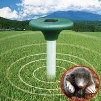 Отпугиватель кротов Solar Rodent Repeller, на солнечной батарее