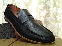 Стильные осенние кожаные мокасины Rondo, фото 1
