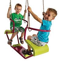 Детские подвесные качели уличные KBT Фло для двух детей