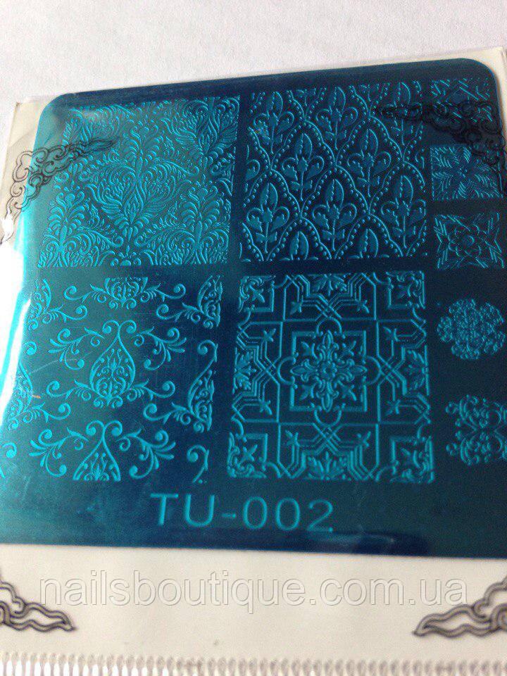 Диск для стемпинга TU002