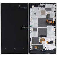 Модуль Nokia 928 Lumia (Verizon) black дисплей экран, сенсор тач скрин Нокиа Нокия Люмия