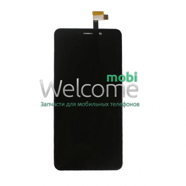 Модуль Umi Super black дисплей экран, сенсор тач скрин для телефона см