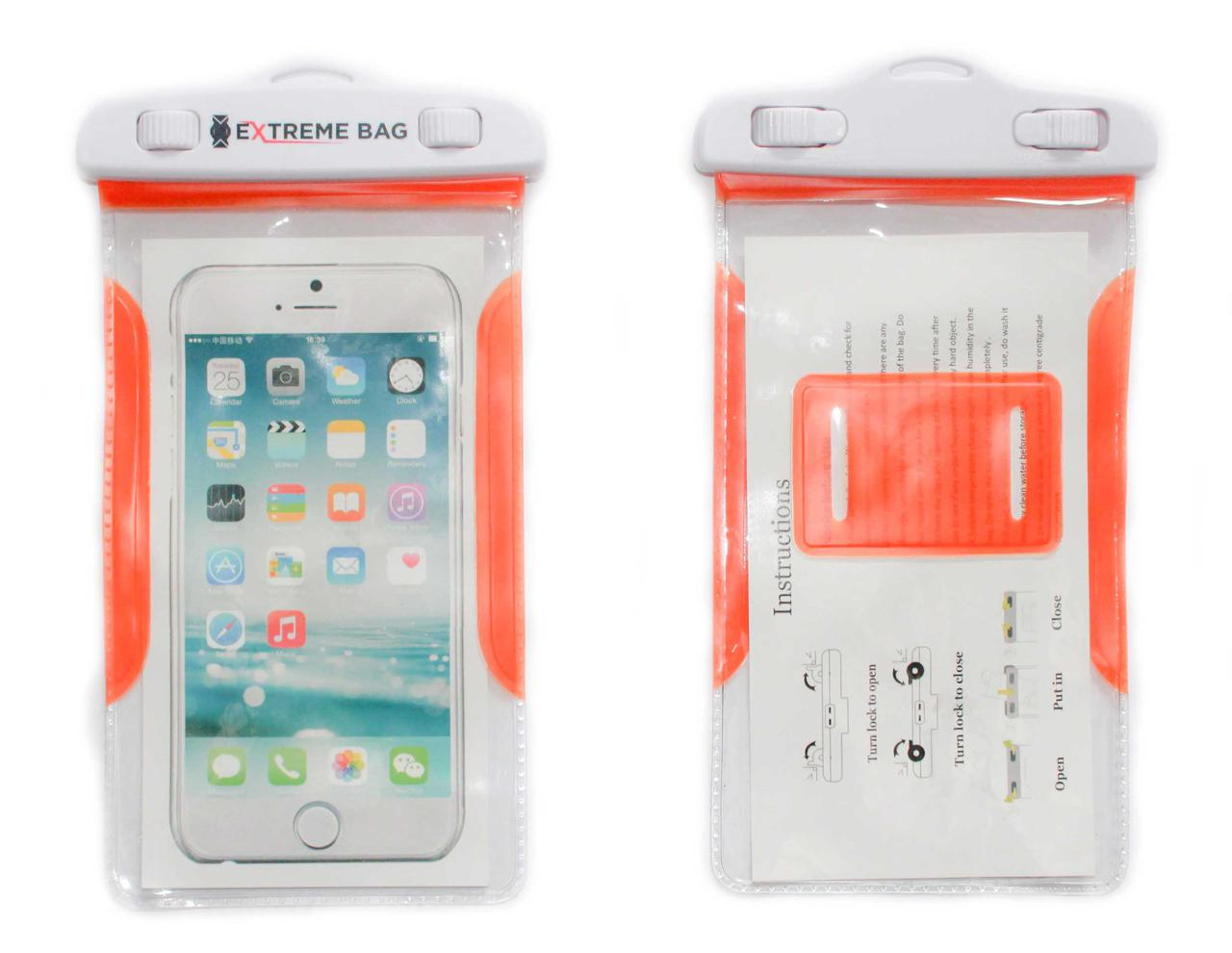 Водонепроницаемый чехол Extreme bag для смартфонов до 5,5 ''