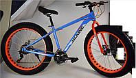 """Велосипед 2-х колес 26"""" FUL-1826B (1шт) синий, подножка, руч.тормоз"""