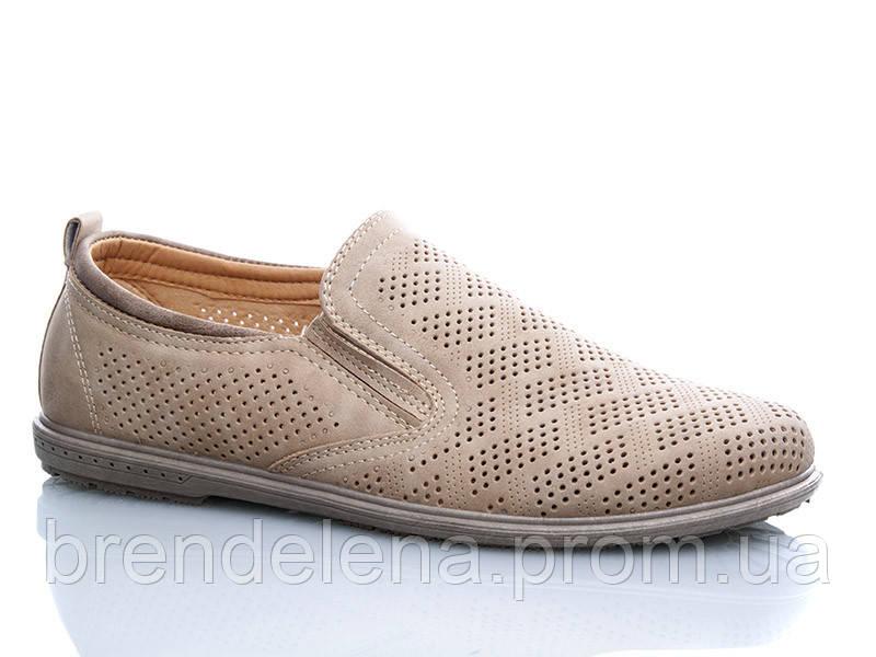 Стильні туфлі чоловічі Dual ( р40р44 )