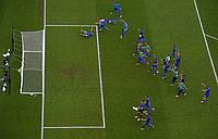 Сетка для футбольных ворот футбольная D.3,5. 5см. ячейка, 1,5м. глубина  Люкс 1,5