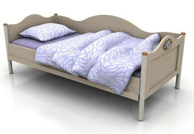 Кровать-диван под матрас 900х2000 An-11-3 Angel береза и вишня