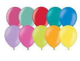 """Воздушные шары 9"""" пастель ассорти 100 шт+20 шт в подарок Belbal (Бельгия)"""