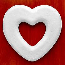 Сердце из пенопласта 27 см