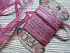 Лента люрикс 0,7см Розовая 5м