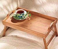 Бамбуковый столик для завтрака