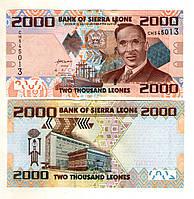 Сьерра Леоне 5000 Леоне 2010 год состояние UNC