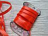 Стрічка атласна 0,7 см Помаранчева 5м