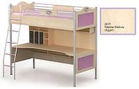 Кровать+стол An-16-1 Angel береза