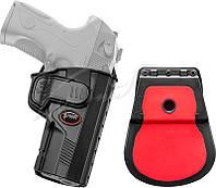 Кобура Fobus для Beretta PX4 Storm с поясным фиксатором черная