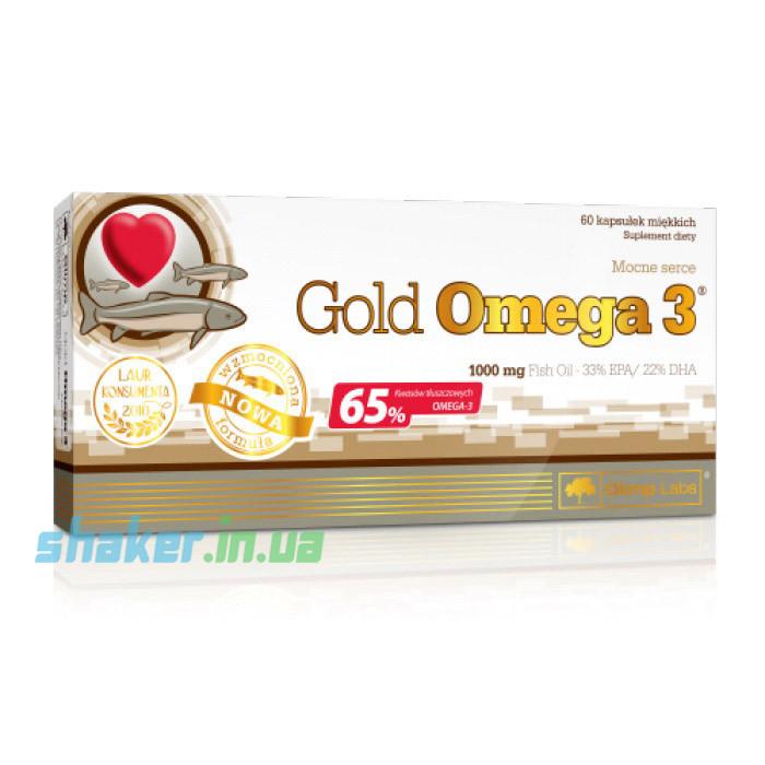 Olimp Gold Omega 3 65% (60 капс) олимп голд омега